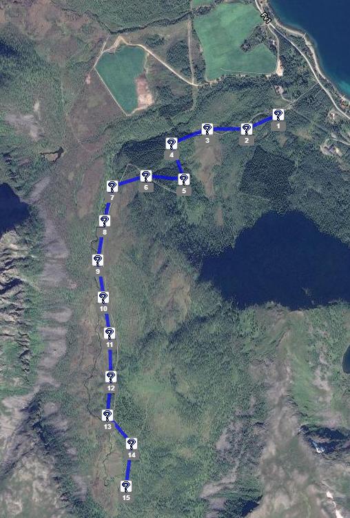 Challengetrail Skjærstaddalen